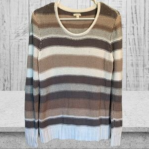 SONOMA Cable Knit Sweater Large